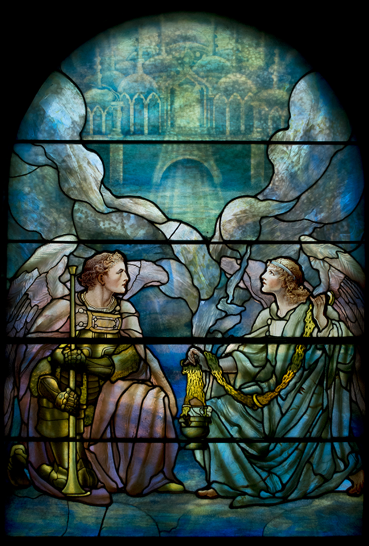 Angels with Trumpet and Incense